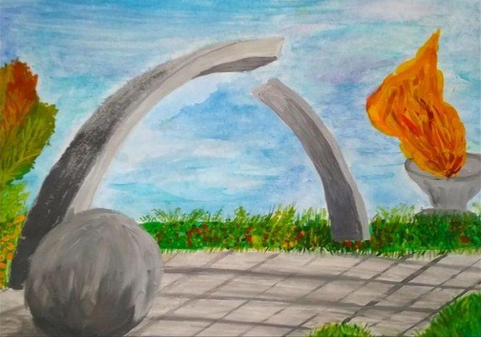 Petites nouvelles russes - Blocus de Léningrad - Dessin d'enfant - L'encerclement brisé