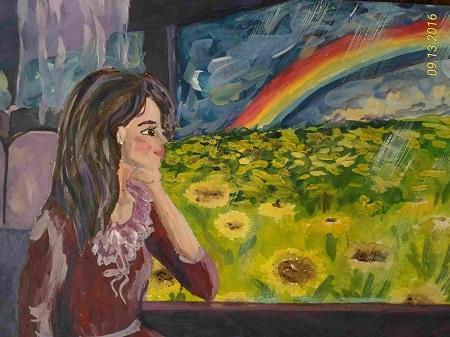 Petites nouvelles russes - Blocus de Léningrad - Dessin d'enfant - Ma maman est une princesse
